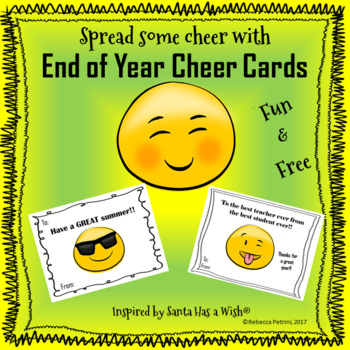 End of Year Cheer Cards - A Santa Has a Wish® Inspired Product