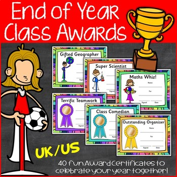 End of Year Awards | Class Awards and Certificates