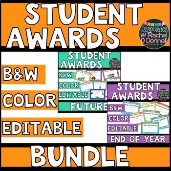 Student Awards 'The Bundle'