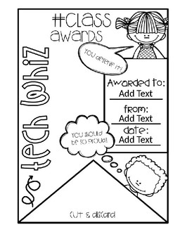 End of Year Class Awards EDITABLE