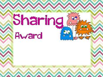 End of Year Class Awards - Editable version for any grade