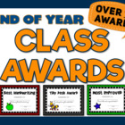 End of Year Awards {Hundreds of Editable Certificates for Your Students}
