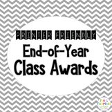 End of Year Class Awards {Printer Friendly Version}