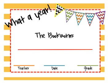 End of Year Class Awards {already made templates + blank awards, too!}