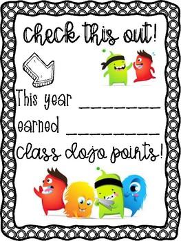 End of Year Class Dojo Certificate