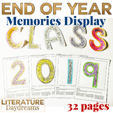 End of Year Class Memory Display