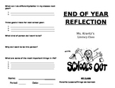 End of Year Class Reflection
