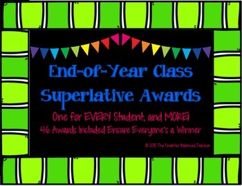 End-of-Year Class Superlative Awards