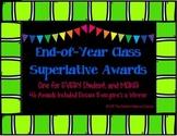 End-of-Year Class Superlative Awards