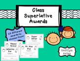 Class Superlative Awards