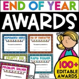 End of the Year Awards | Editable Student Awards