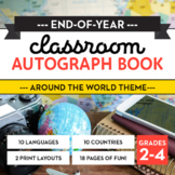End-of-Year Classroom Autograph Book