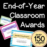 End of Year Classroom Awards - Over 150 Pages!