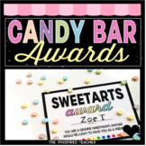 End of Year Classroom Candy Bar Awards- Fun Activity for t