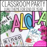 End of Year Classroom Transformation: Hawaiian Luau