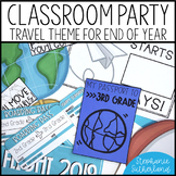 End of Year Classroom Transformation: Travel Theme