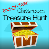 End of Year Classroom Treasure Hunt - Fun activity for the