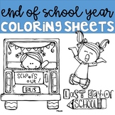 End of Year Coloring Pages