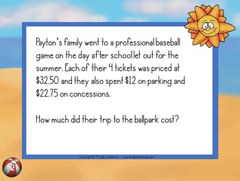 End of Year Common Core Word Problem Collection: Grade 3-5 | Distance Learning