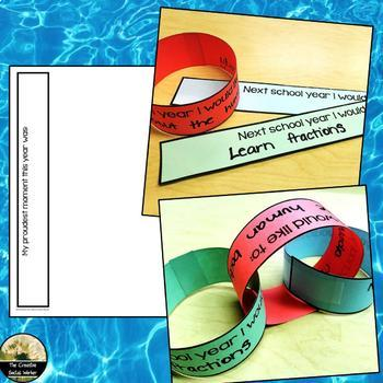 End of Year Counseling Activity Bracelets or Chain