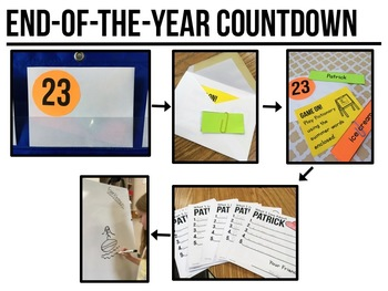 End of Year Countdown {25 Days of Low-Prep Celebrations!}