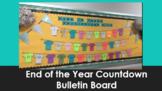 End of Year Countdown Bulletin Board