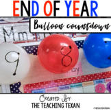 End of Year Countdown Cards FREEBIE