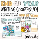 End of Year Craft and End of Year Writing BUNDLE
