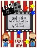 End of Year Craftivity: Last Take, Movie & Popcorn Party Keepsake
