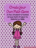 Create Your Own Math Game Project