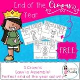 End of Year Crowns *FREEBIE*