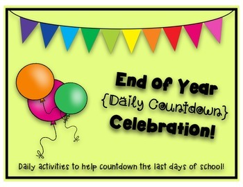 End of Year Daily Countdown Celebration