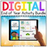 End of Year Digital Activity Bundle [9 digital activities!