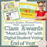 End of Year Awards Digital Class Superlatives and Voting M