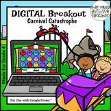 End of Year Digital Breakout Escape Room (Google Form) 4th Grade