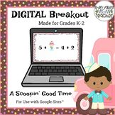End of Year Digital Breakout Escape Room Grades K-2
