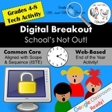End of Year Digital Breakout - School's Not Out! End of Year Digital Escape Room