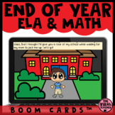 End of Year Digital Escape Room   BOOM CARDS™