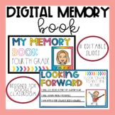 End of Year Digital Memory Book | Google Slides | End of Y