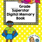 End of Year Digital Memory Book for Google Drive®