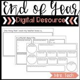 End of Year Digital Resource