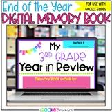 End of Year Digital Scrapbook/ Memory Book for Google Slid