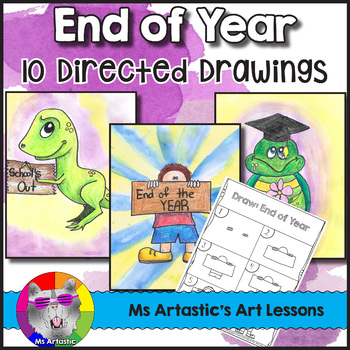 End of Year Directed Drawing