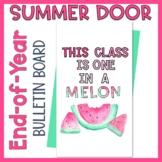 End of Year Door Decor or Bulletin Board Watermelon Decor