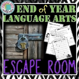 End of Year ELA Escape Room