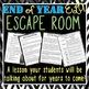 End of Year ELA Escape Room - Pop Culture Edition