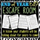 End of Year ELA Escape Room - Pop Culture Edition