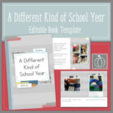 End of Year Editable Book Template     Distance Learning