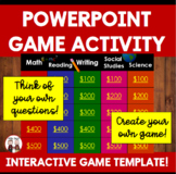 End of the Year Activity: PowerPoint Review Game