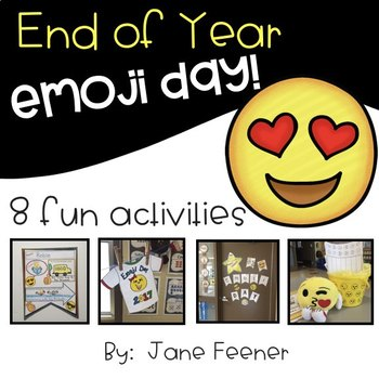 End of Year Emoji Day activities